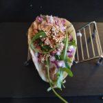 Taco de ternera del Restaurante La Vinya Tames i Vins