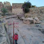 Subiendo al castillo de Vilafamés