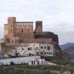 Castillo de Cofrentes desde el Mirador de la Era del Chulo