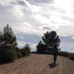 Pista llegando al Cerro de Agras