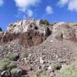 Chimenea del volcán de Cofrentes