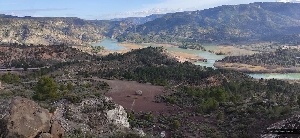 Vista del crater desde la parte más alta