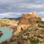 Vista del Castillo de Cofrentes y el rio Cabriel