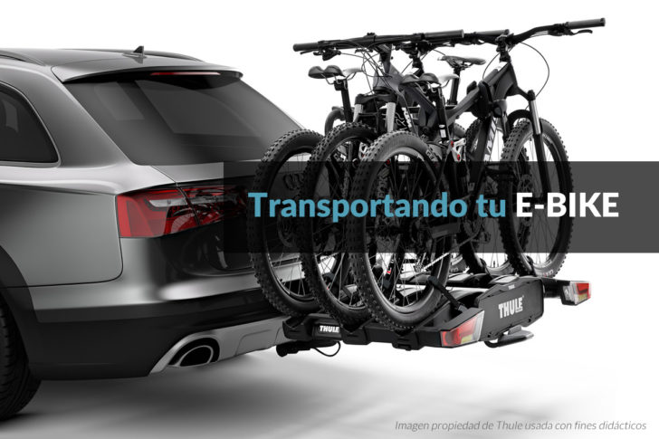 Portabicis para e-bikes