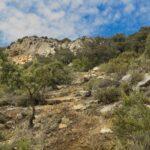 Zona escalonada en la Senda de la Cueva de los Muertos (foto de Biketrails Valencia)