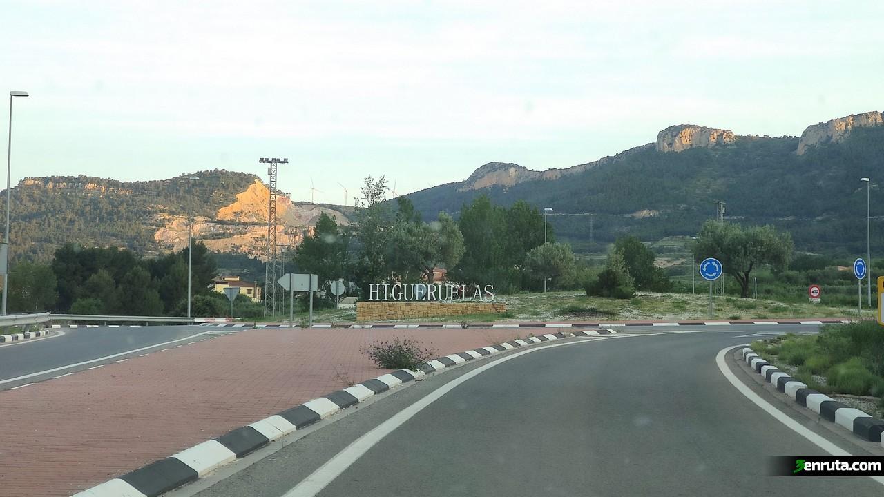 Llegando a Higueruelas