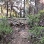 Toboganes y saltos de la primera senda