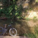 Nada mas empezar ya comenzamos a disfrutar de un paisaje precioso junto al río Tuéjar
