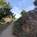 Sendero en la Ruta del Agua de Chelva