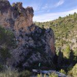Parada para disfrutar de las vistas del barranco de la Cueva del Gato