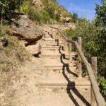 Segundo tramo de escaleras que tendremos que superar