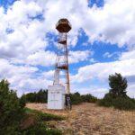 Torre de vigilancia forestal en el punto más alto de la ruta