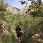 El sendero nos acerca a los Estrechos de Valloré