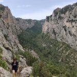 El ascenso por el Barranco de Valloré es espectacular