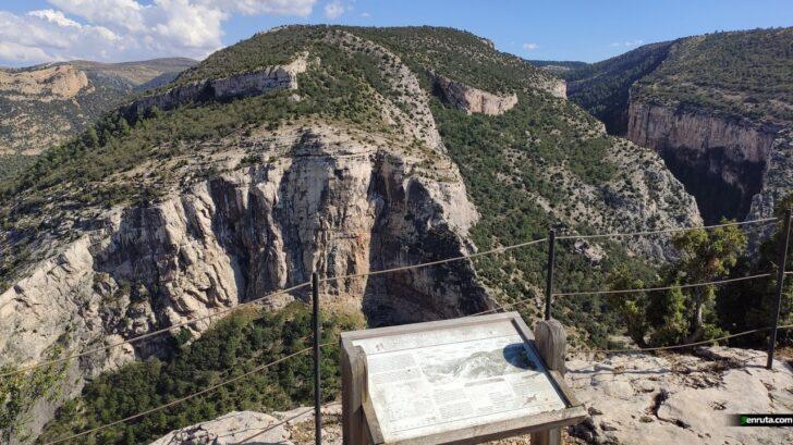 Miradores de la Hoz Mala y Guadalope
