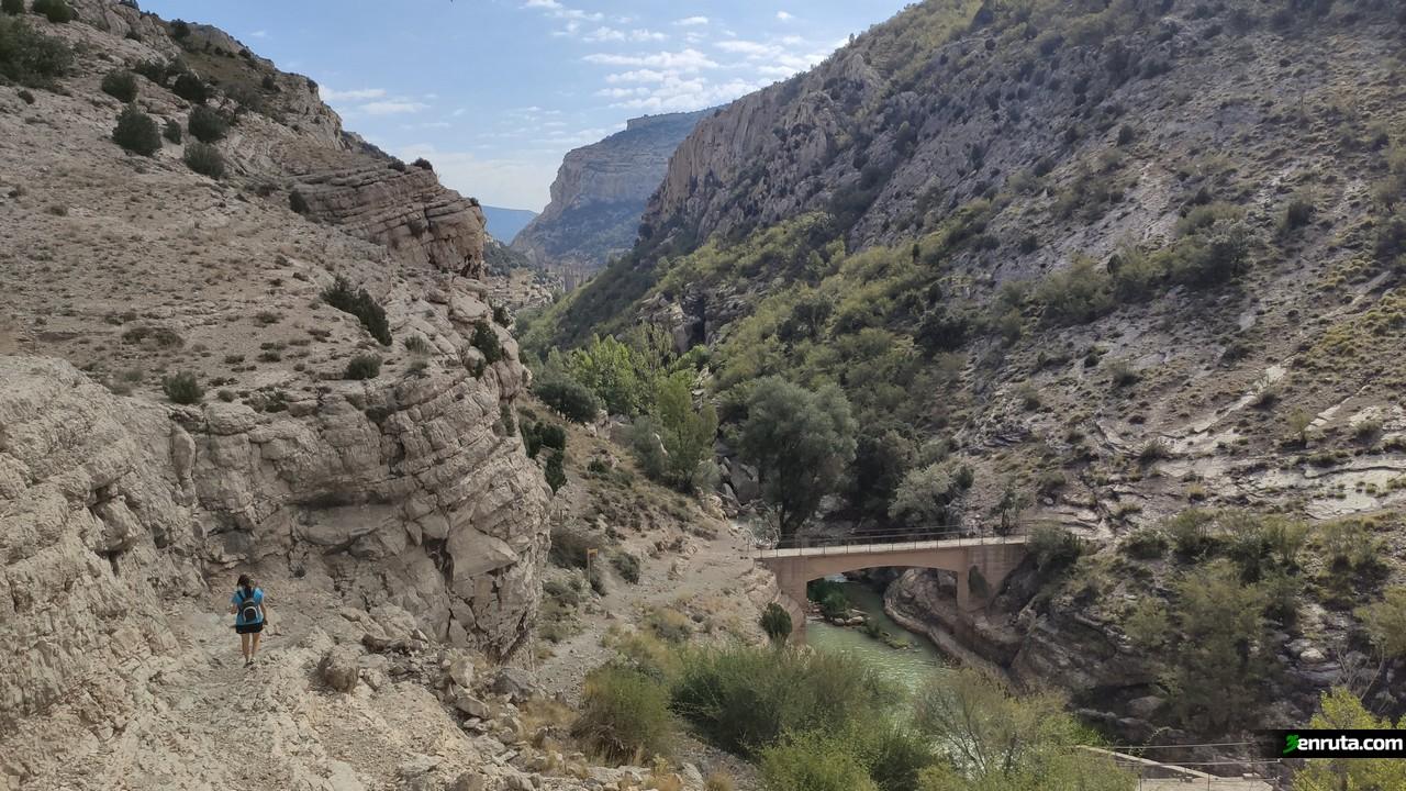 Puente que veremos al inicio de la ruta