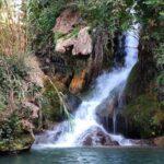 Cascada y poza en Los Chorradores de Navarrés