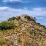 Llegando al Castillo de Navarrés