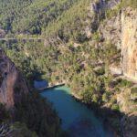 Presa de Cirat desde la senda de los Estrechos