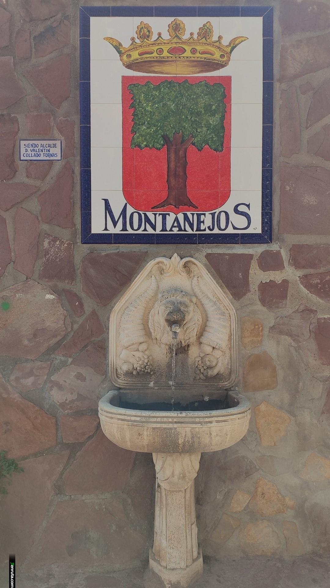 Fuente en Montanejos al final de ruta