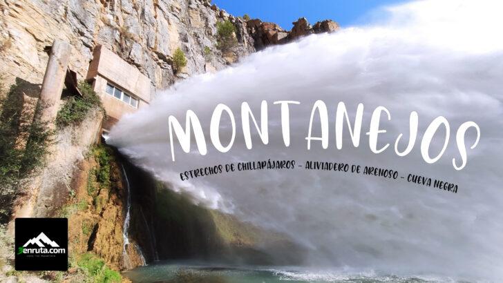 Montanejos – Estrechos de Chillapájaros – El chorro de Arenoso – Cueva Negra