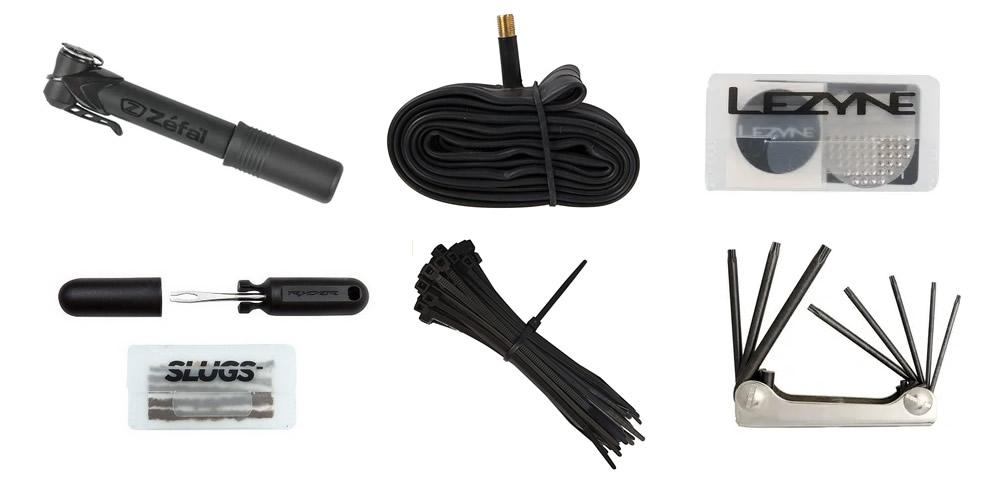Cosas que debemos llevrar en nuestra mochila de mtb