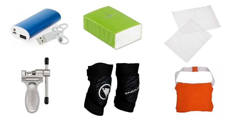 Qué llevar en la mochila de ciclismo