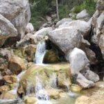 Cascadas que forma el rio Matarraña en el Parrizal