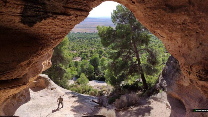 La Cueva de la Horadada en el Monte Arabí