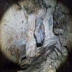 Columnas en la Cova del Colom