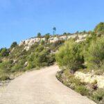 Llegando a la Torre de vigilancia forestal del Pico Sayas
