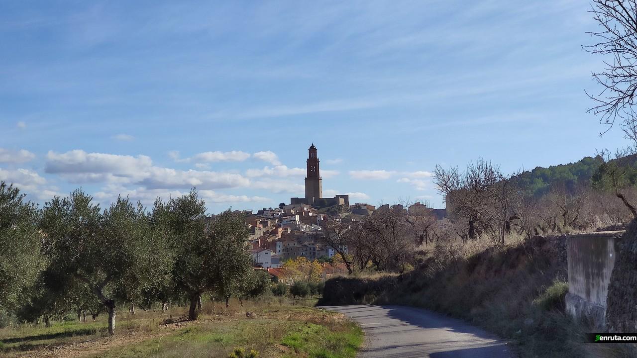 La impresionante Torre de las Campanas de Jérica