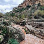 Rio Tuéjar en el tramo de la Ruta del Agua