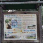 Panel informativo sobre la Vall de la Casella