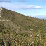 Vistas del Ouet desde el sendero a la Cueva de la Galera