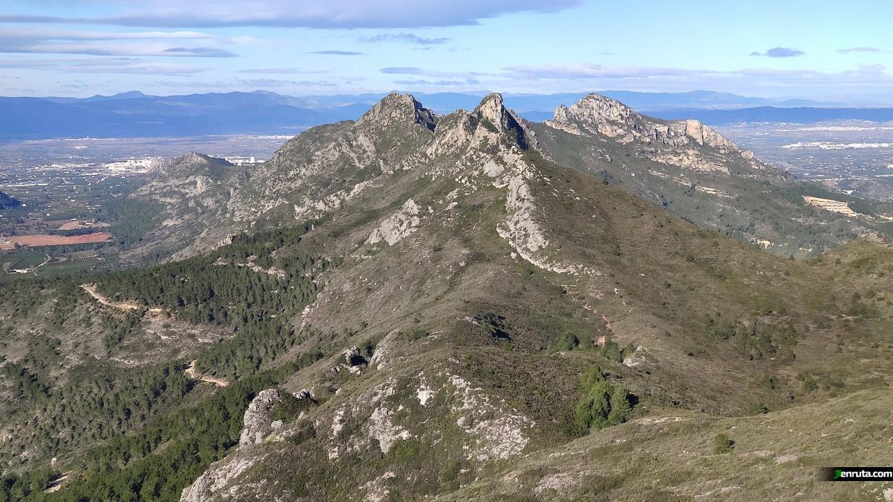 Vistas desde la subida al Pic de la Ratlla