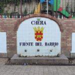 Punto de inicio de la Ruta en la Fuente del Barrio de Chera