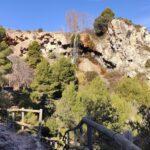 Vista del Chorrero de la Garita desde la senda de bajada
