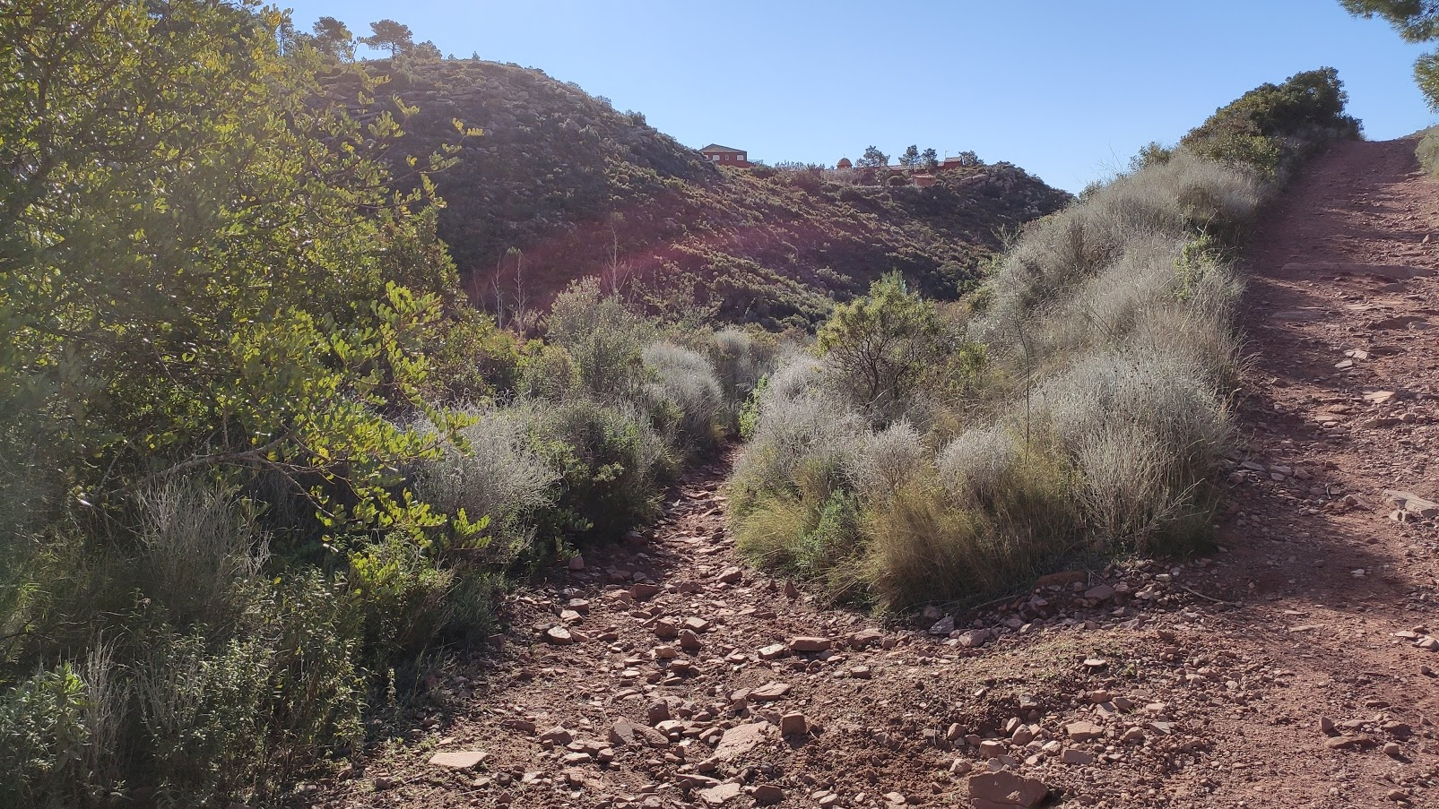 Inicio de la senda del barranco de la Boneta