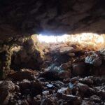 Entrada a la cueva desde el interior
