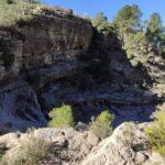 Por el interior del Barranco de la Hoz
