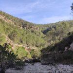 Caminaremos por el interior del cauce del Rio Grande