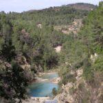 Vista del charco de las Fuentes desde el Charco de la Cacerola
