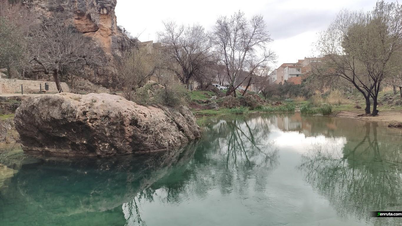 Primera piscina natural en el rio Sallent de Bolbaite