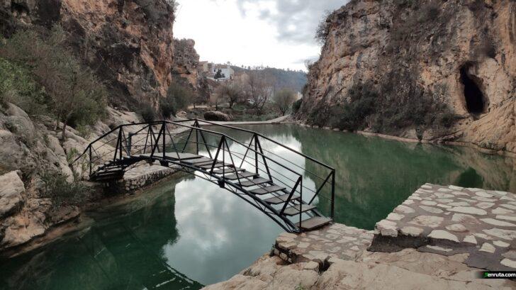 El Río de Bolbaite y el Salto de Chella