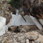 Rincon para descansar en la piscina natural de Bolbaite