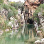 Pozas en el rio Sallent de Bolbaite
