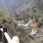 Vista del rio desde el camino de la Vuelta de la Hoz de Jérica