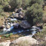 Rio Palancia tras el Azud de Cascajares