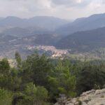 Vista de Cirat desde la Peña del Mediodía